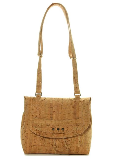 Marmi Exclusive Cork Shoulder Bag