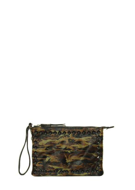 Marmi Exclusive City-Bag Camo Print Crossbody