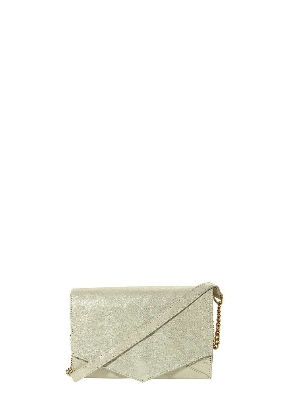 Marmi Exclusive Montage Platino Metallic Print Crossbody